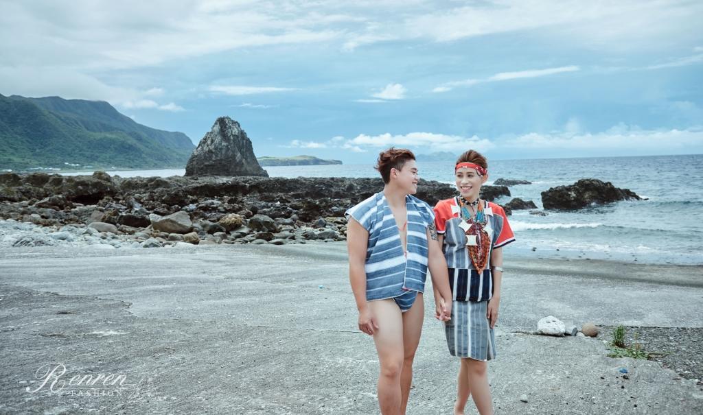婚紗道具-原住民-蘭嶼-婚紗-傳統服飾