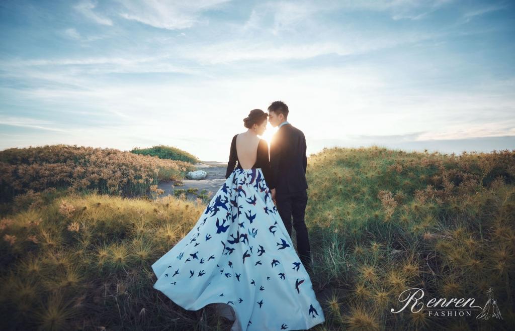 夕陽婚紗-台中美式婚紗-冉冉-歐美婚紗工作室