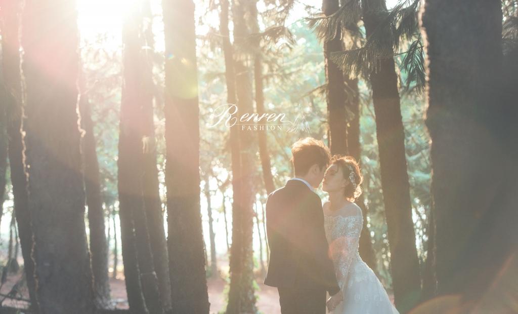 台中美式婚紗-九天森林-RenRen冉冉歐美婚紗