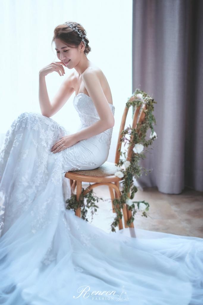 歐美-美式婚紗-清新白紗-冉冉