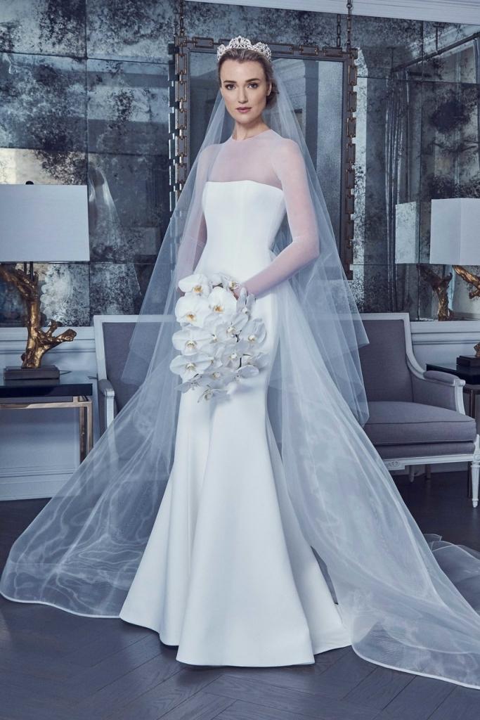 歐美婚紗趨勢 冉冉婚紗 RenRen Bridal 簡約風婚紗