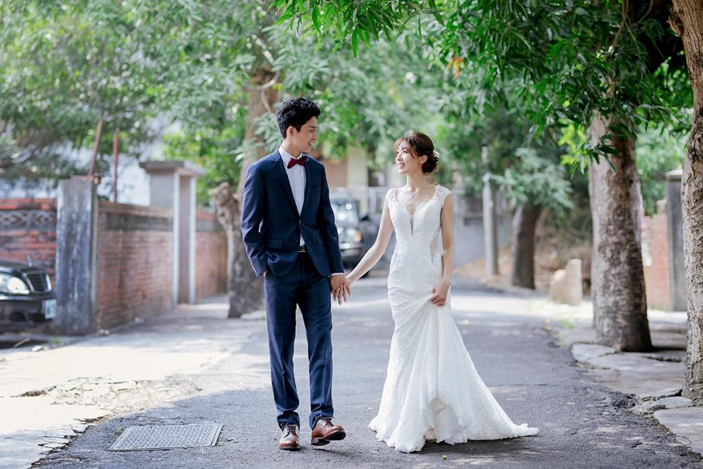 台中美式婚紗-冉冉-優雅白紗