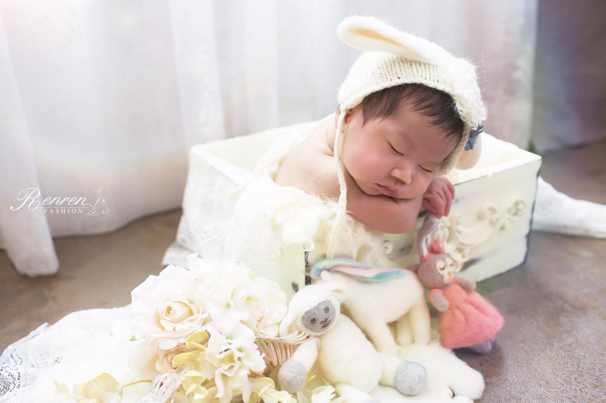 RenRen-新生兒寫真-慕朵影像攝影棚-2