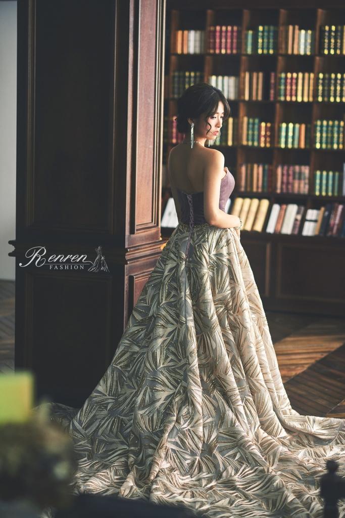 高雅奢華女伶-RenRen-Bridal-冉冉歐美婚紗