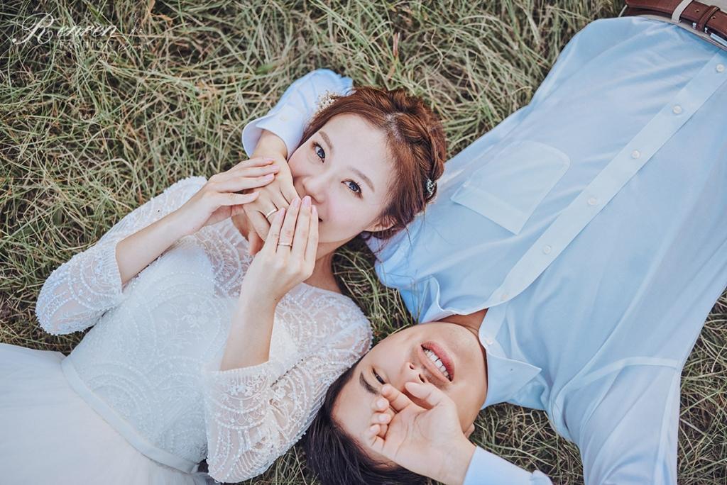 草地 婚紗