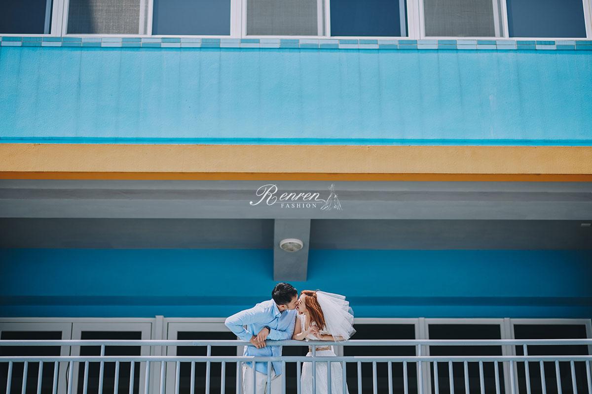RenRen 魏沐 慕朵影像 台中輕婚紗 拍攝
