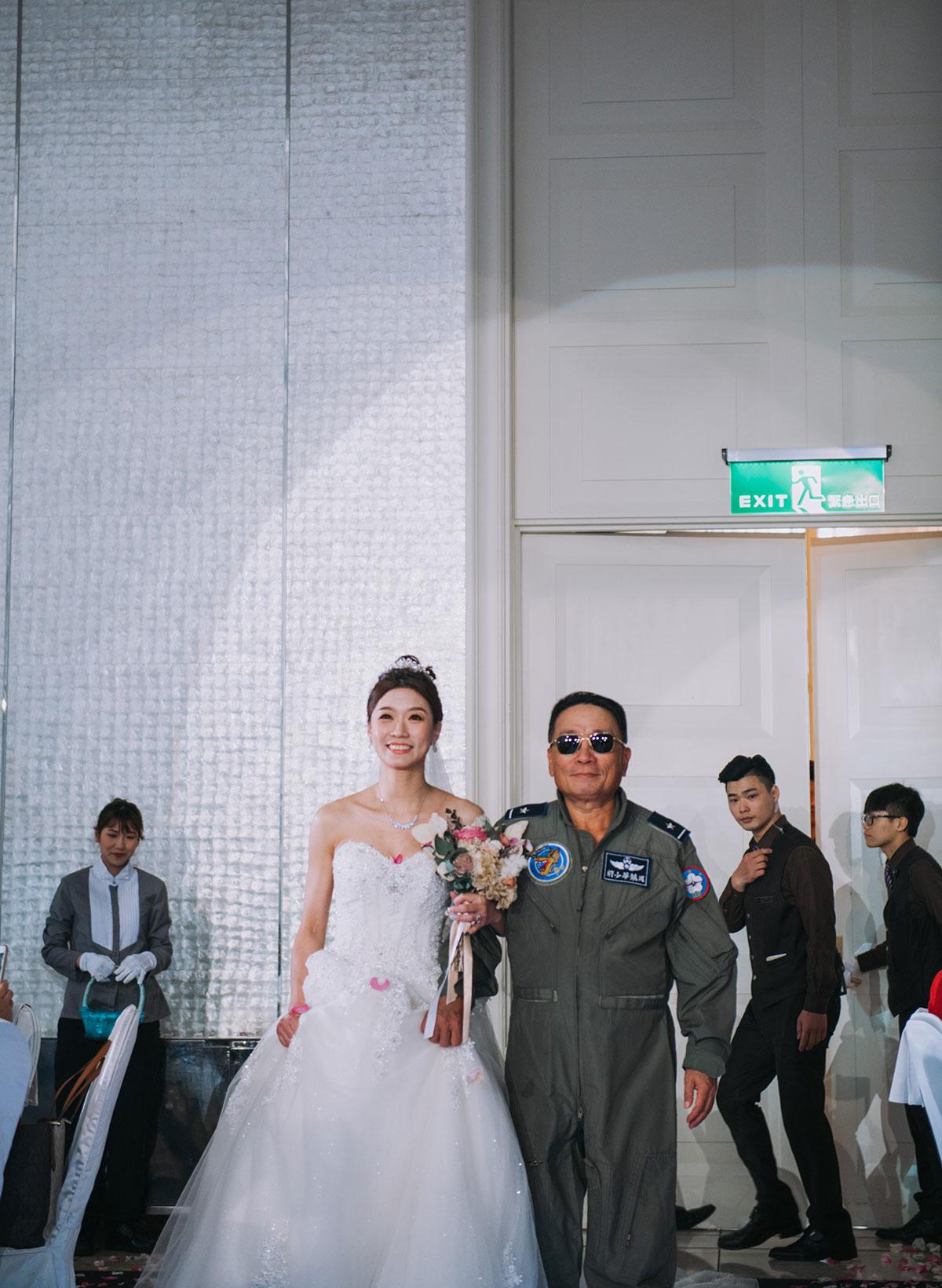 台中林酒店 婚禮 - 婚宴白紗