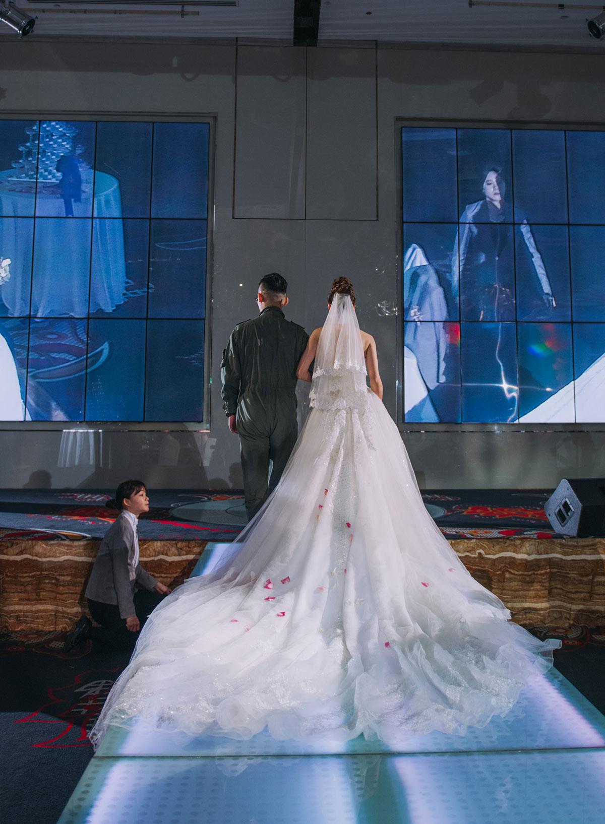 台中林酒店 婚禮 - 宴客 白紗