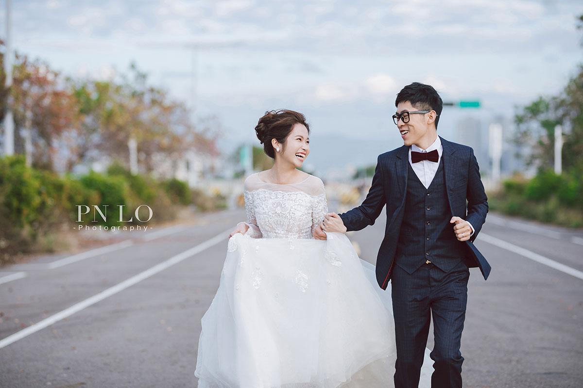 台中-清新-婚紗-冉冉婚紗-街道-婚紗照-3