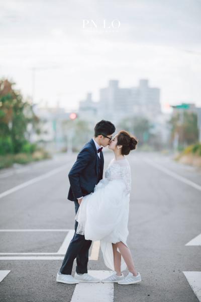 台中-清新-婚紗-冉冉婚紗-街道-婚紗照-4