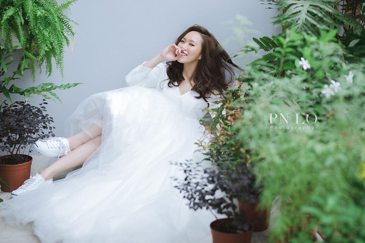 冉冉婚紗 - 裴妮 台中婚紗 清新 簡約風格-白紗