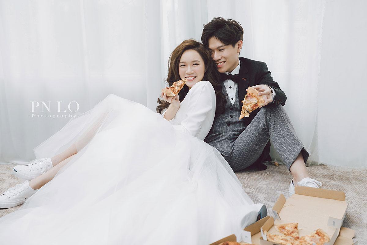 冉冉婚紗 - 裴妮 台中拍婚紗 清新 美式風格-白紗