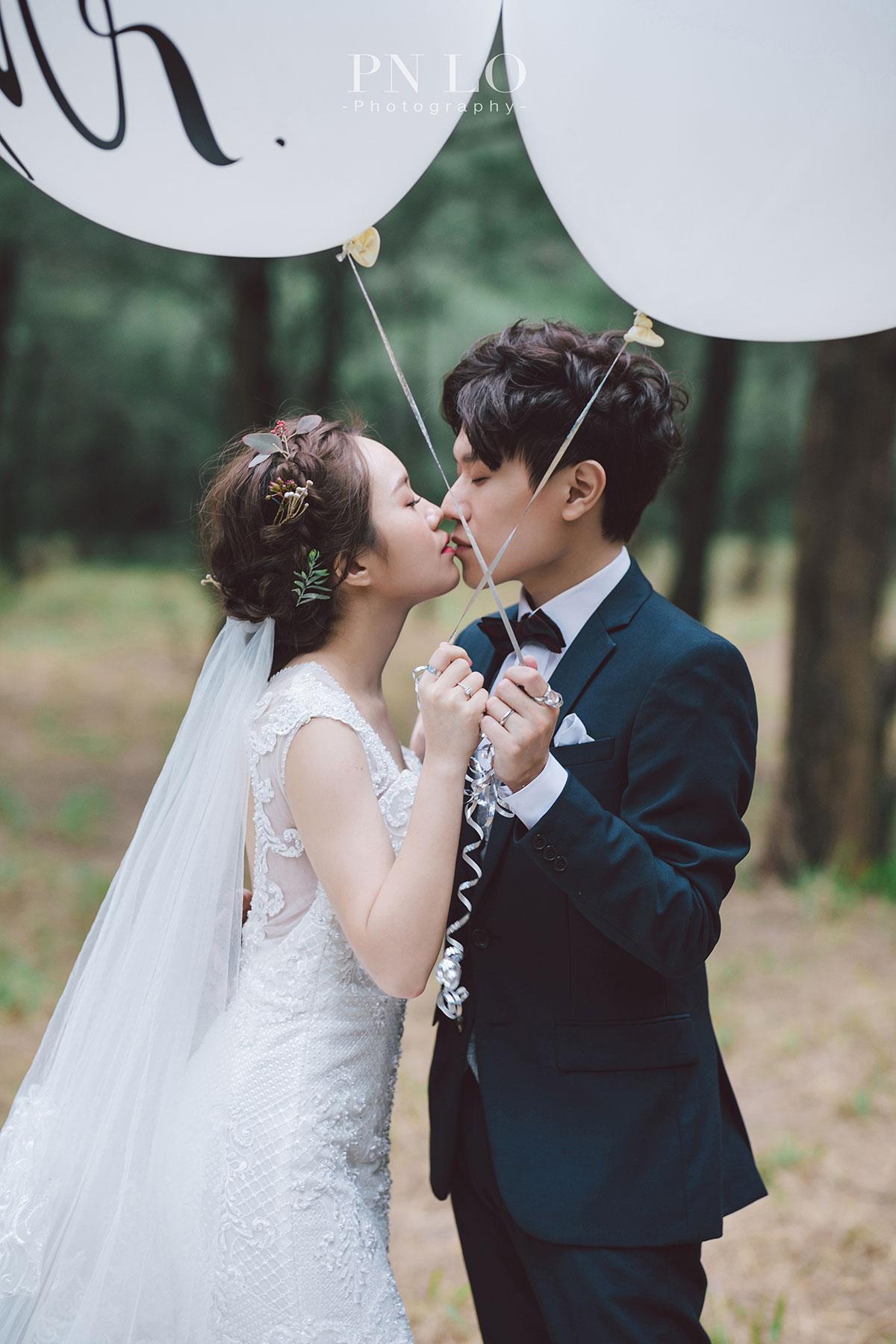 冉冉婚紗 - 裴妮 台中拍婚紗-草地-森林