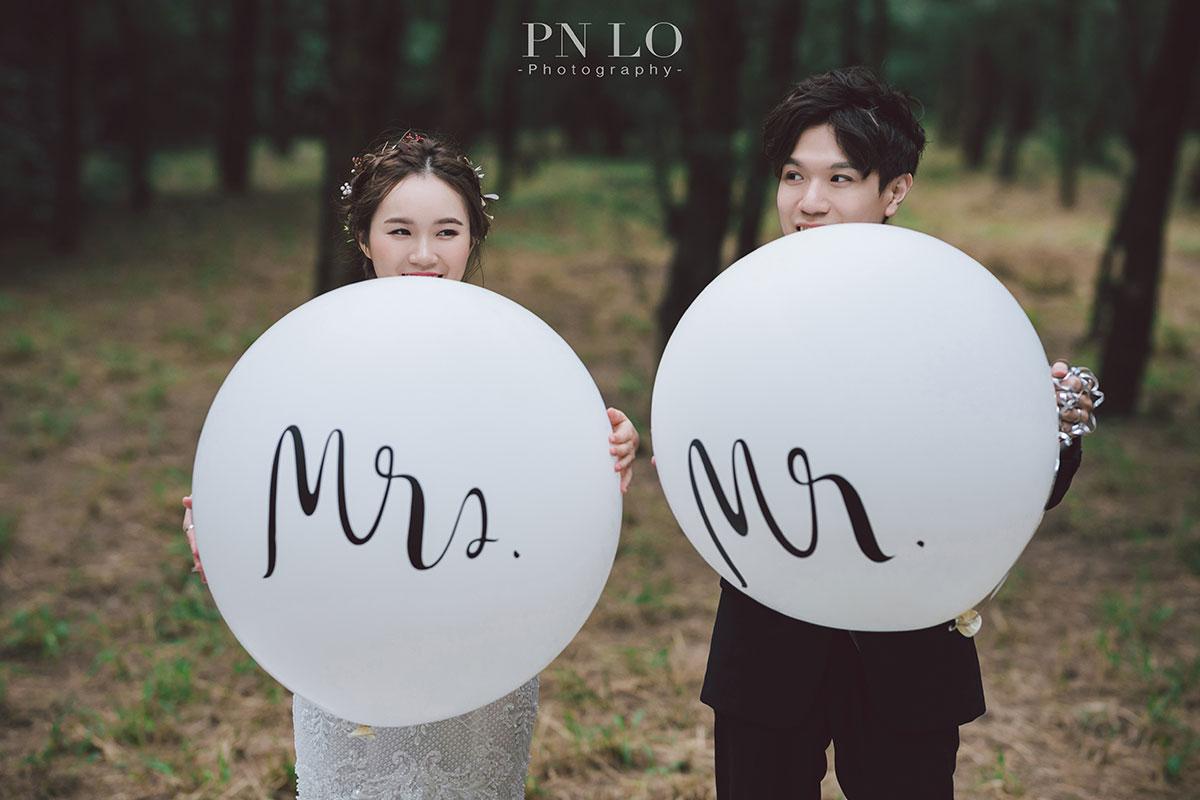 冉冉婚紗-台中拍婚紗-氣球