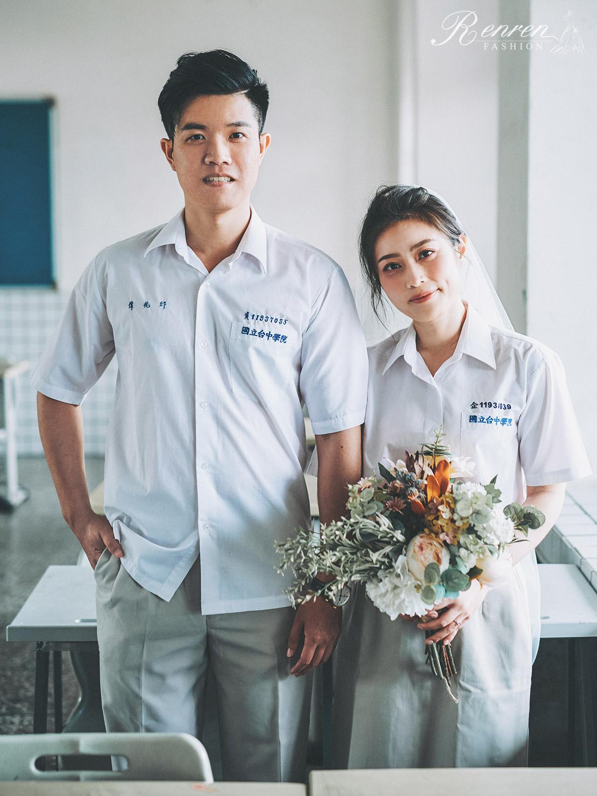 婚紗道具-校服-制服-拍婚紗