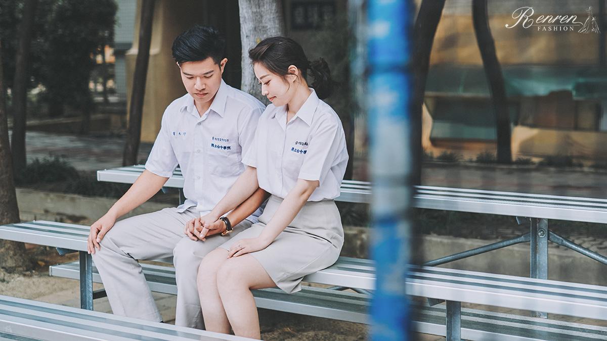 台中科大-制服拍婚紗-校園-婚紗