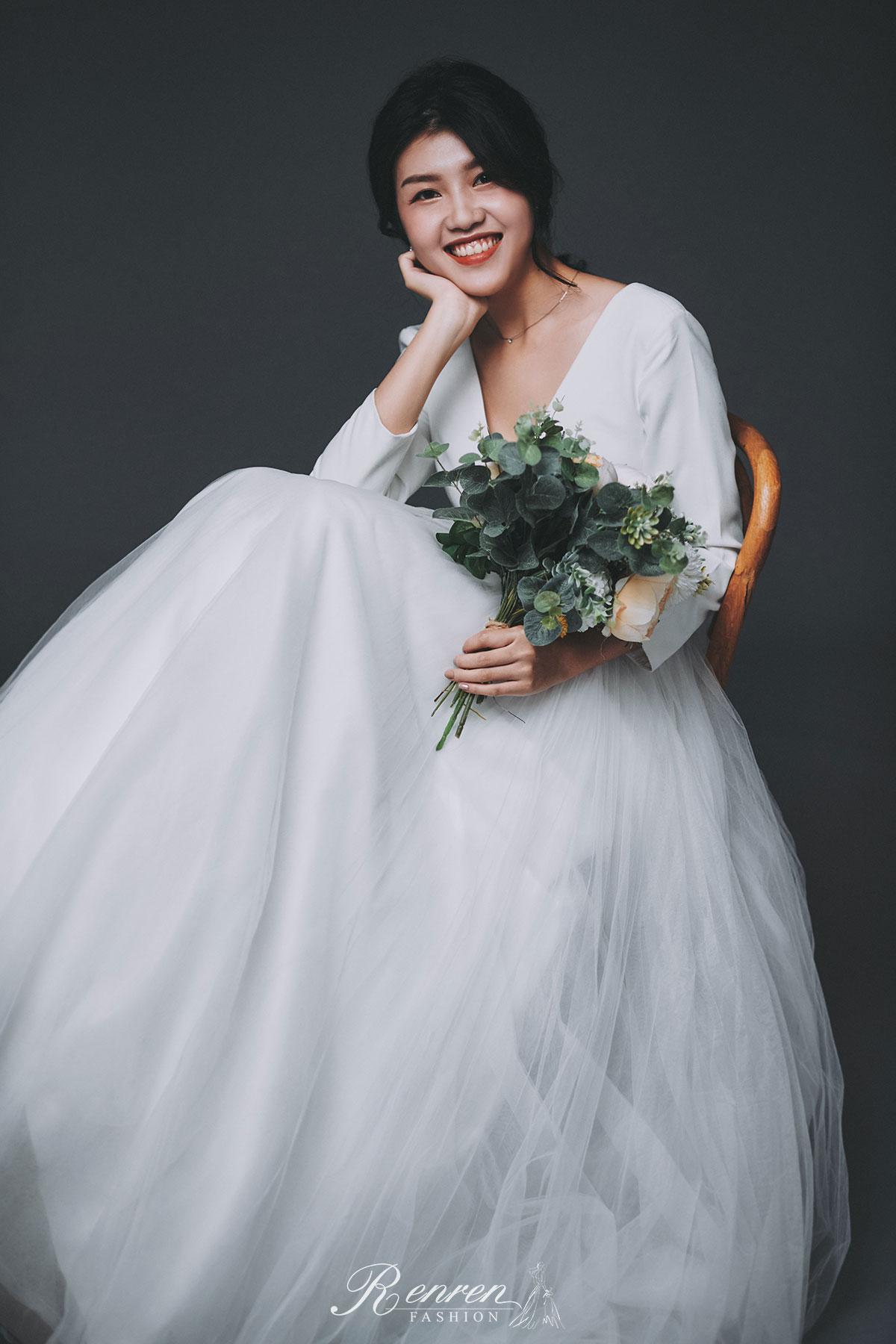 婚紗 美式自然 - 台中-冉冉婚紗-婚紗棚拍