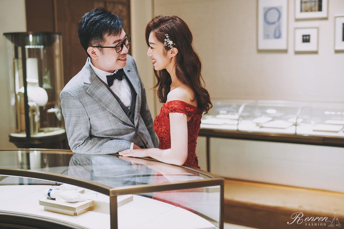 卡地亞Cartier 婚紗-台中-婚戒-拍婚紗
