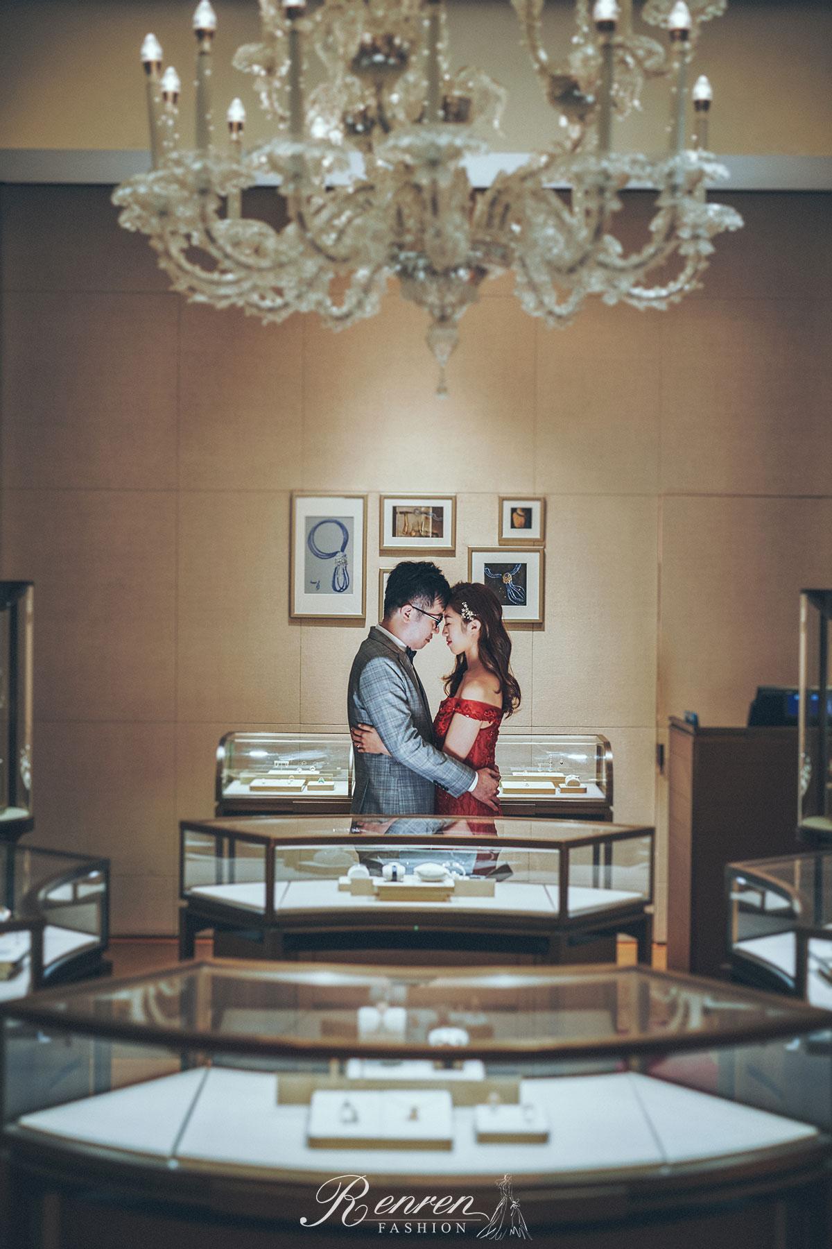 卡地亞Cartier 婚紗-台中拍婚紗-冉冉