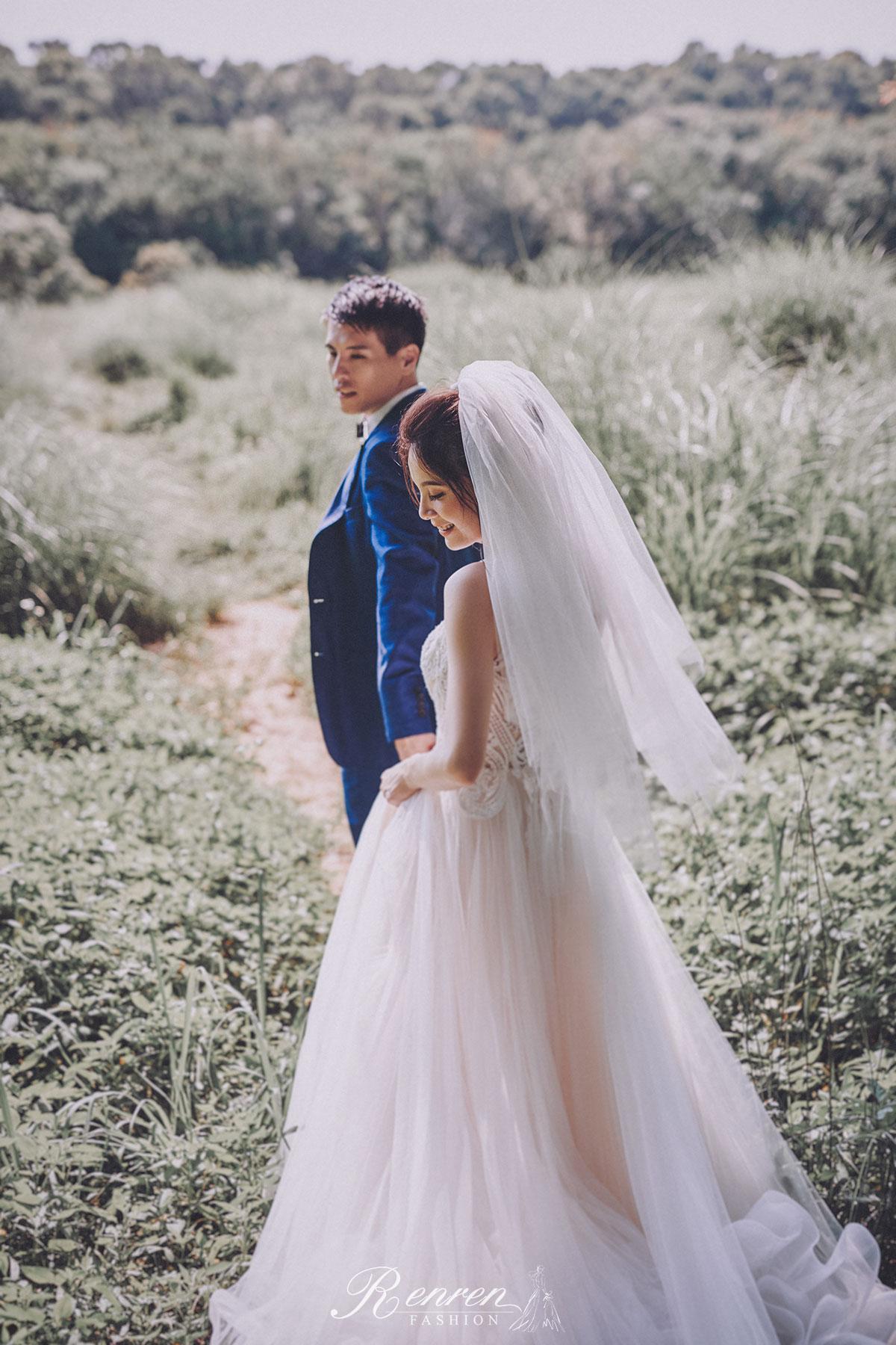 婚紗 美式 自然 -台中-冉冉婚紗