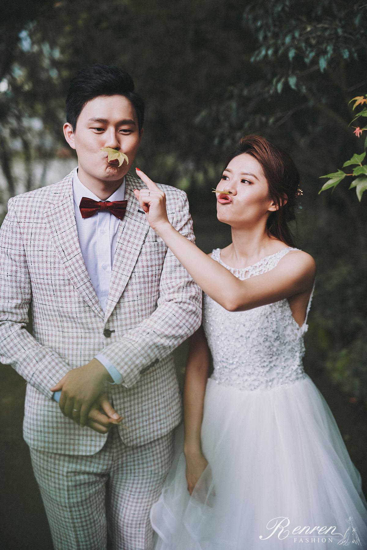 冉冉婚紗-簡約 美式婚紗-台中-婚紗