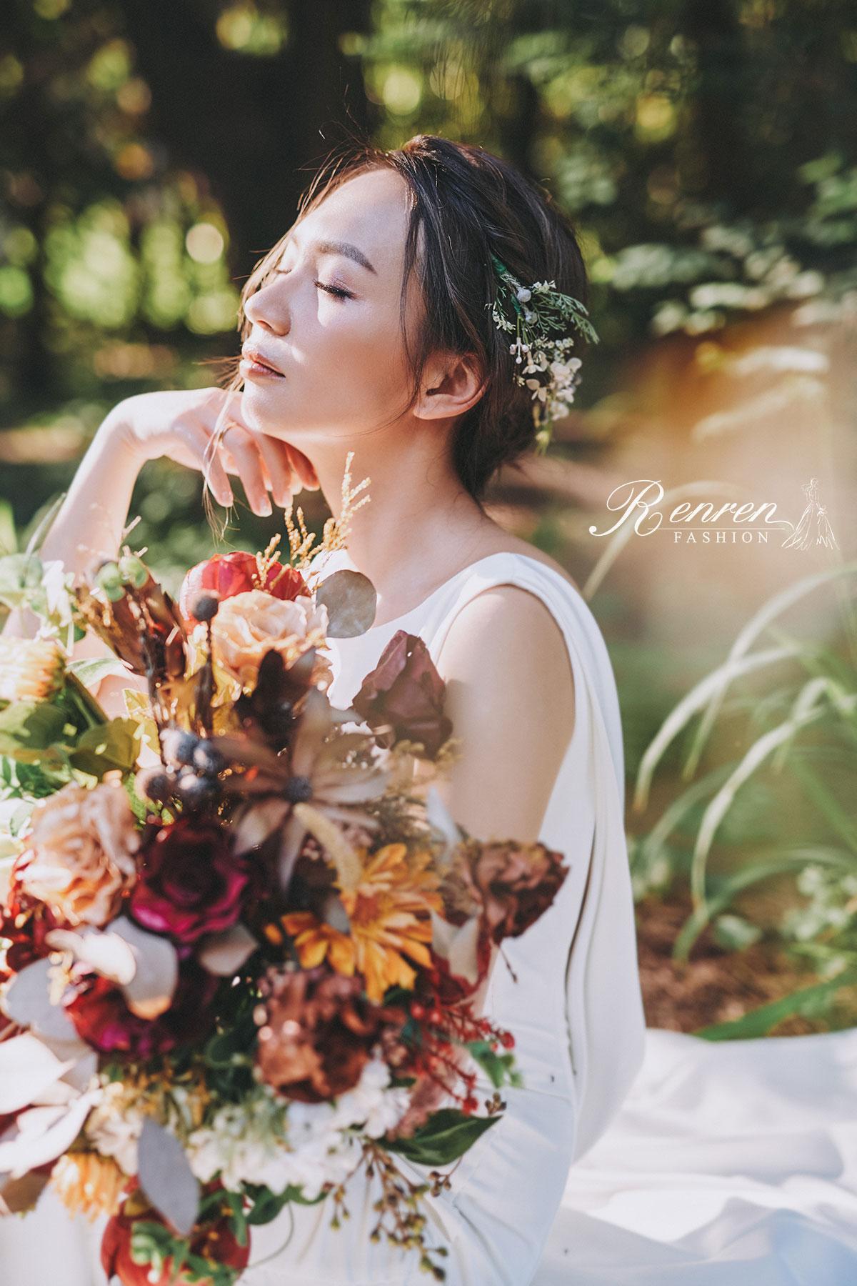 婚紗-台中-冉冉婚紗-彰濱草地-自然簡約