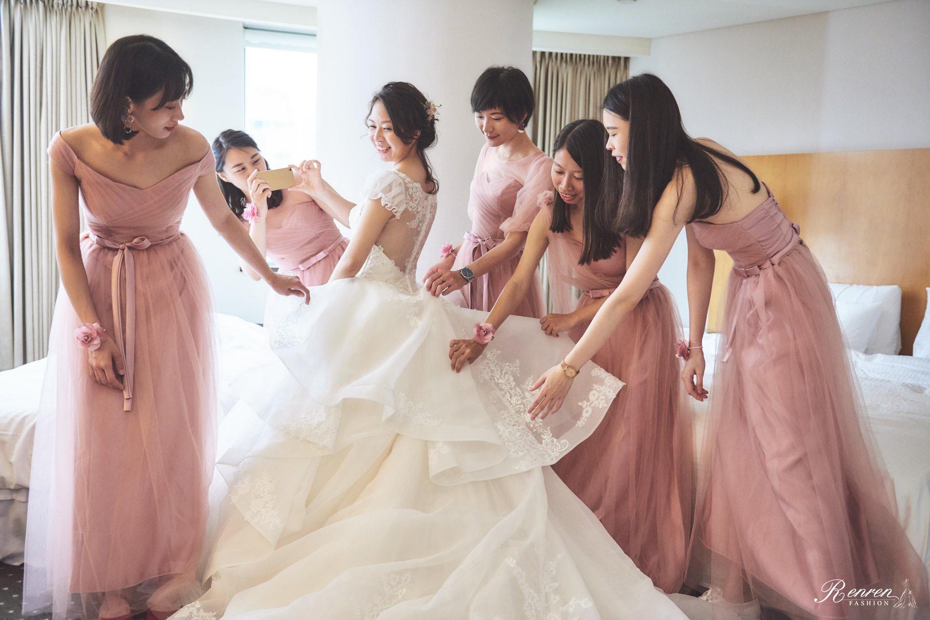 冉冉婚紗-試穿禮服注意事項-台中婚紗