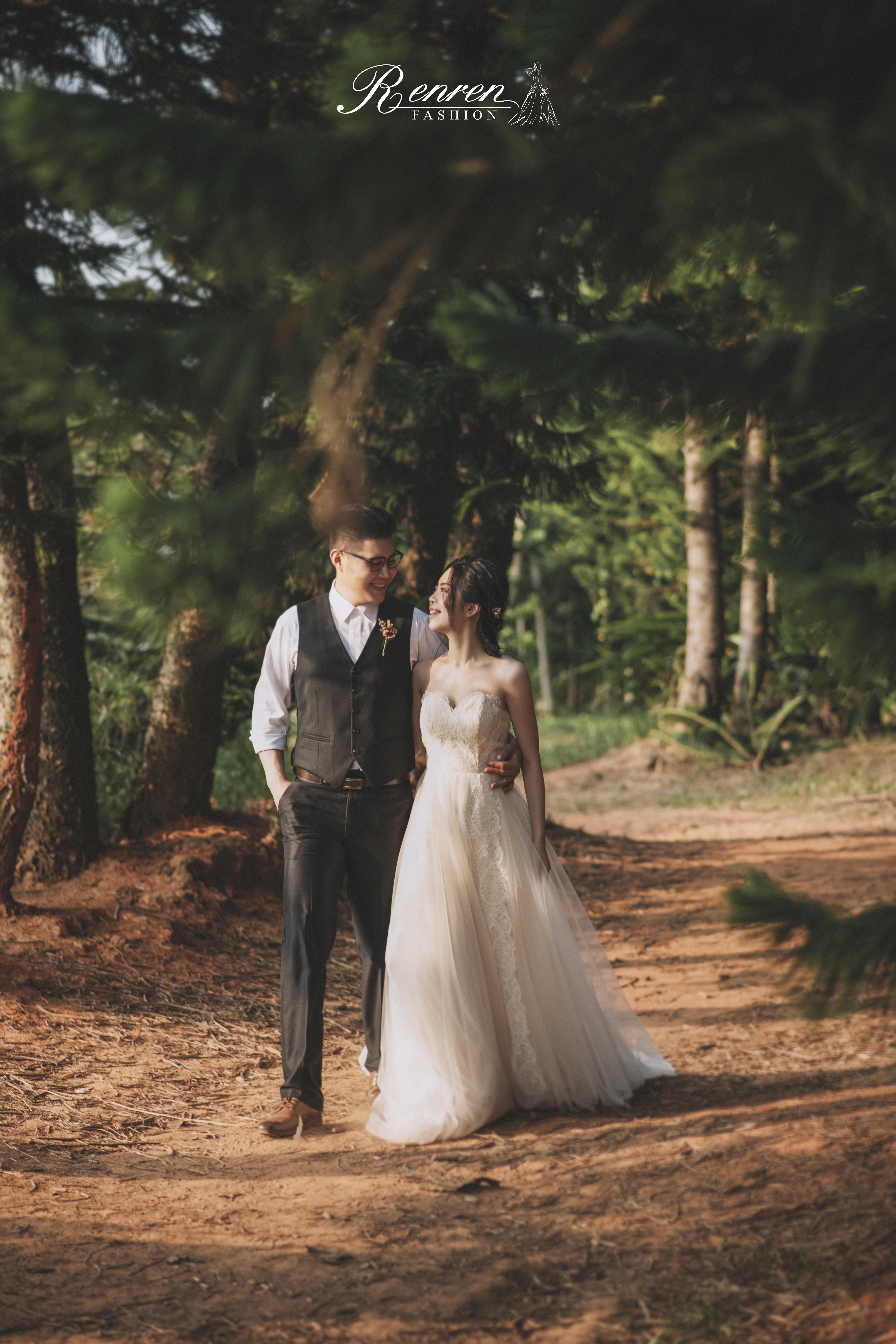 冉冉婚紗-九天黑森林-台中婚紗