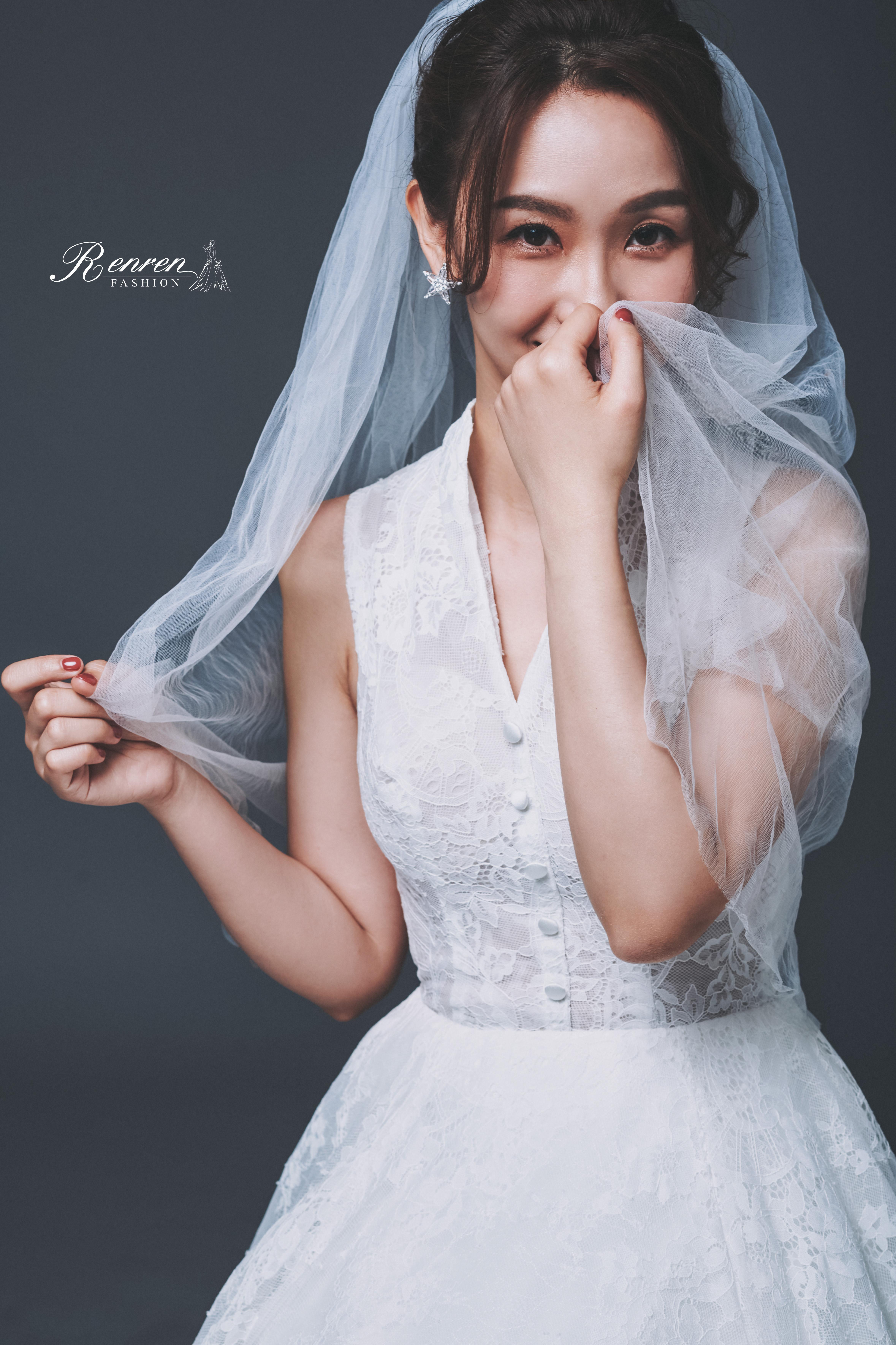 台中婚紗-素背景-冉冉婚紗