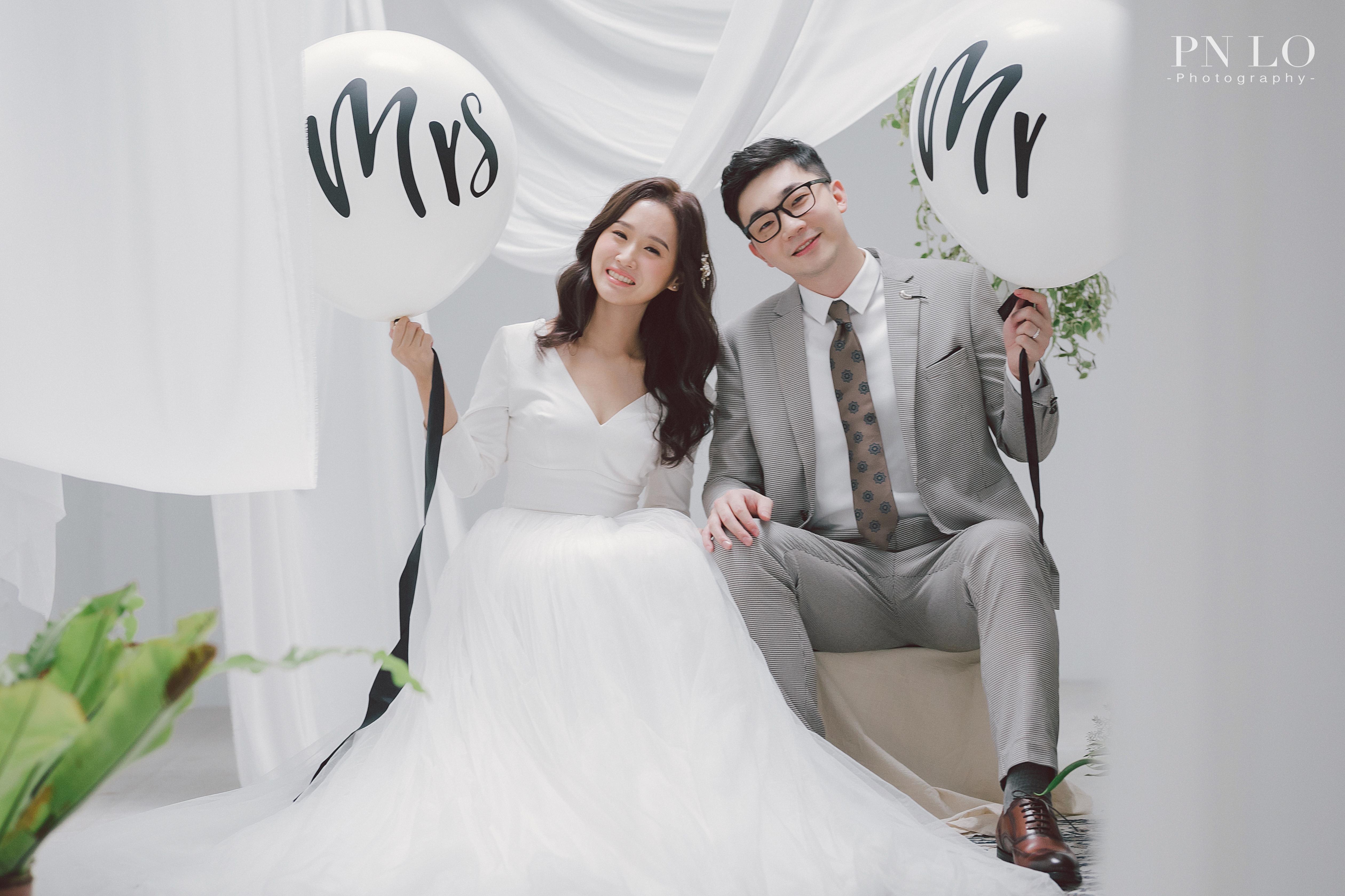裴妮-簡約-冉冉婚紗