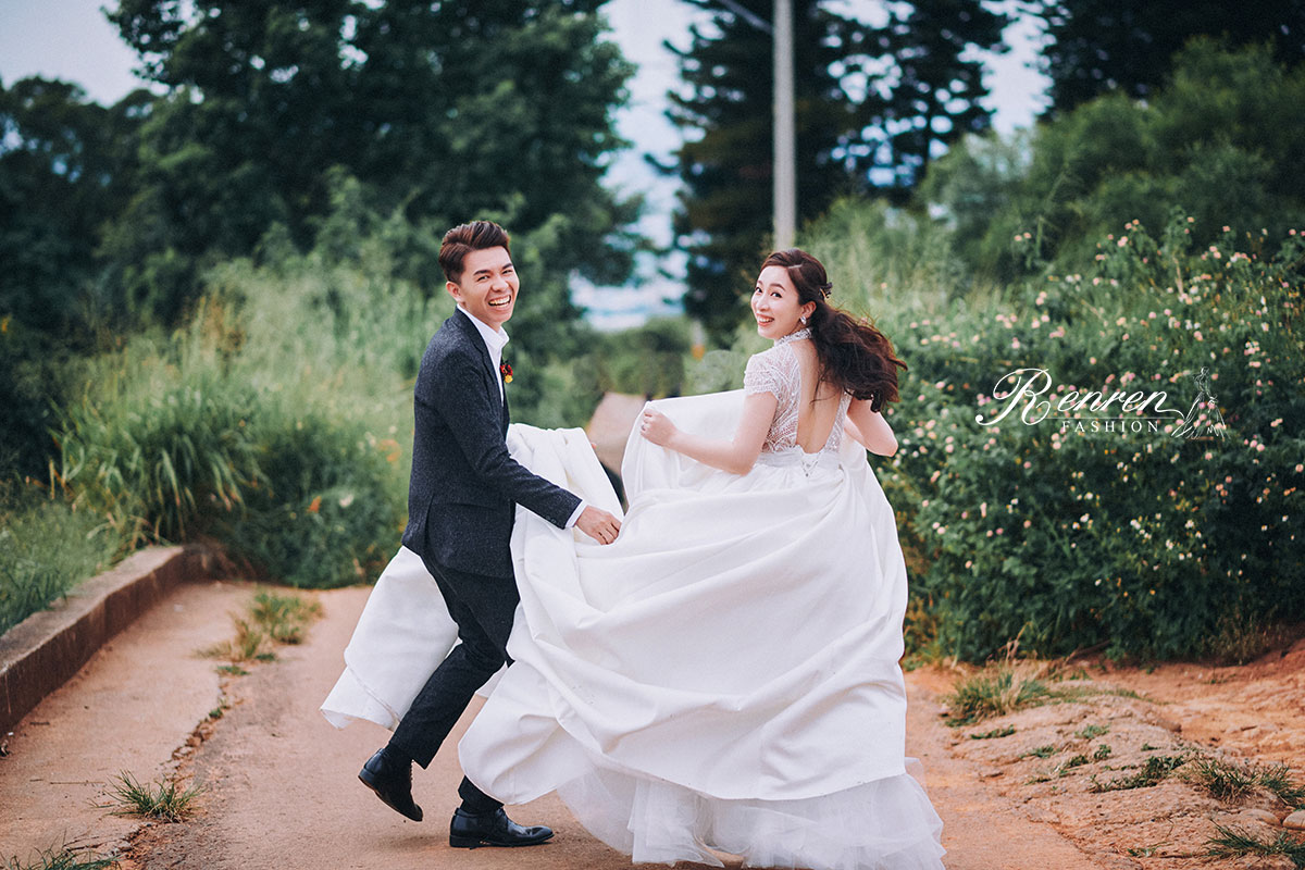 冉冉婚紗-美式自然-台中婚紗
