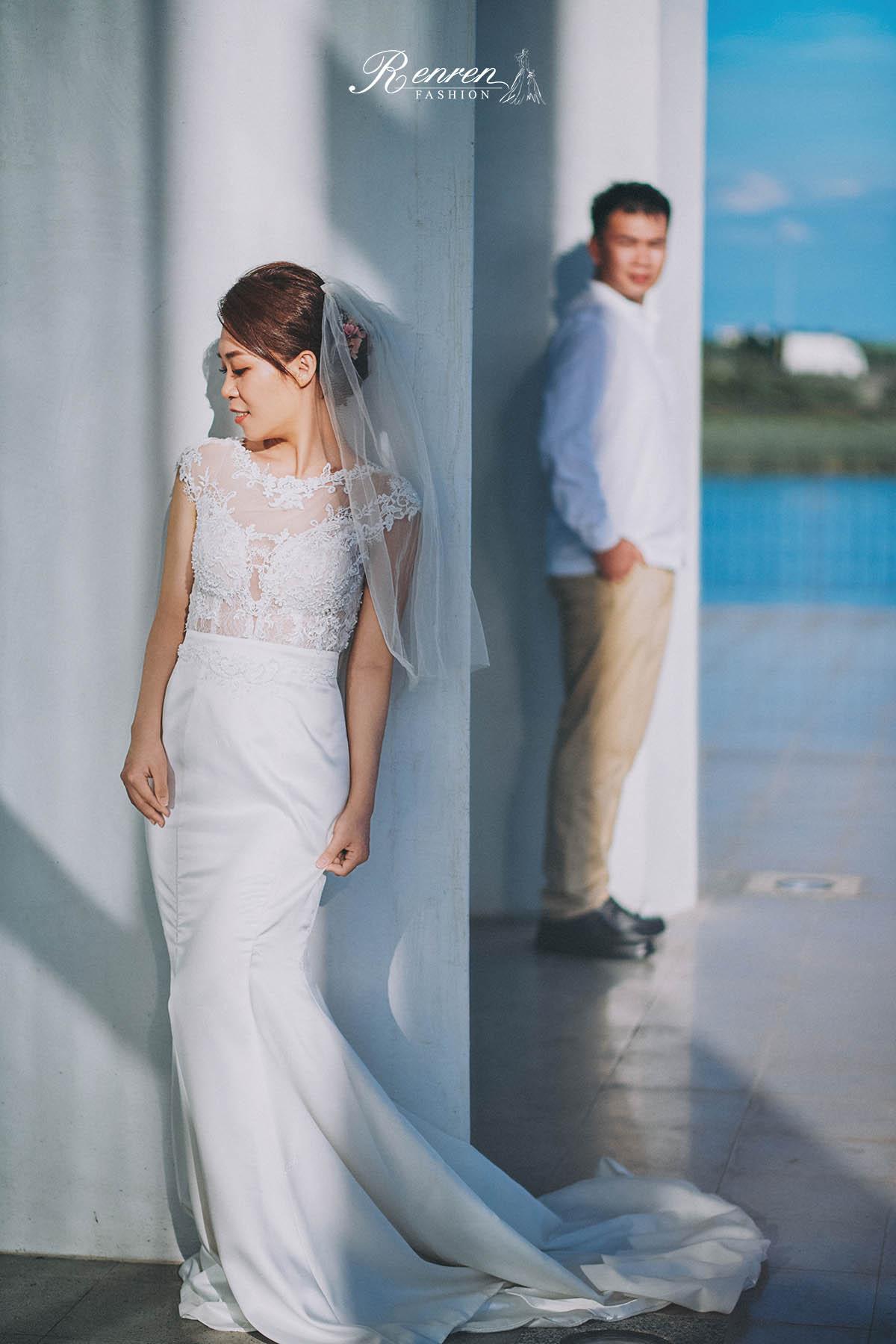 冉冉 台中婚紗 歐美婚紗 美式婚紗 雜誌風婚紗 彰濱